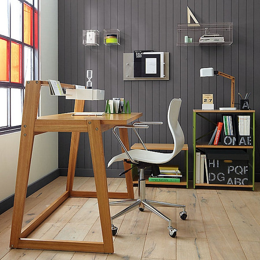 unique office desk ideas photo - 1