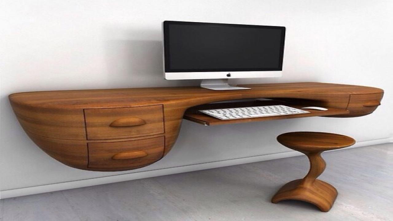 unique office desk ideas photo - 7