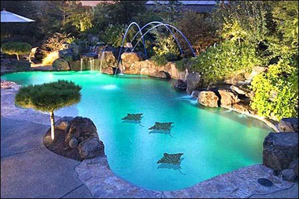 Unique swimming pool ideas hawk haven for Pool design unique