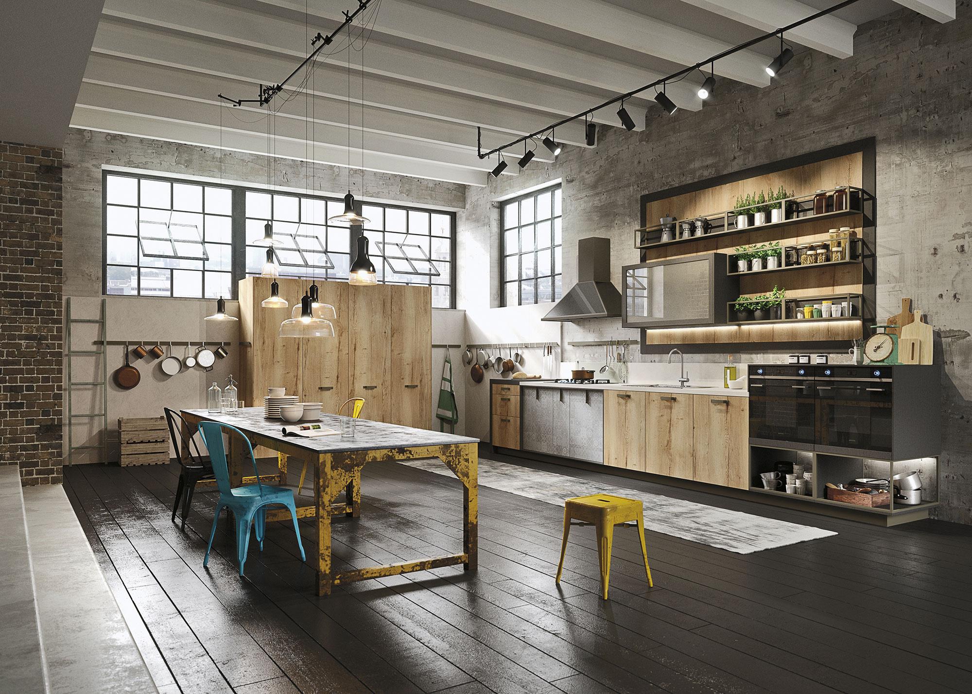 urban kitchen design ideas photo - 1