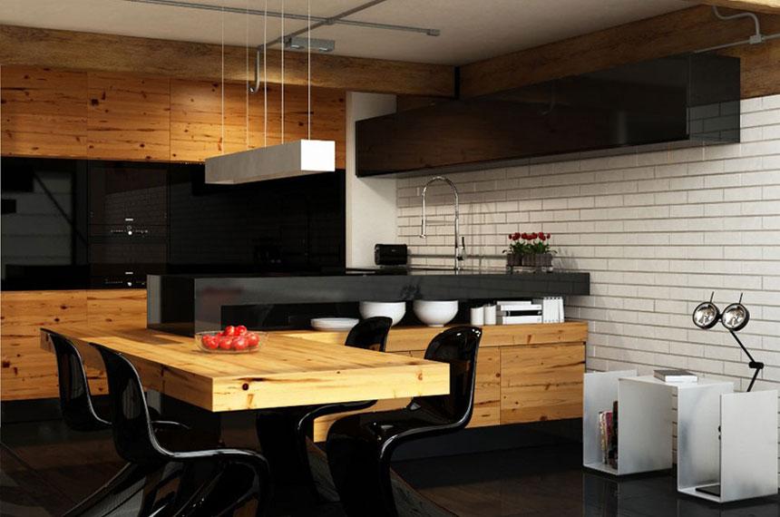 urban kitchen design ideas photo - 10