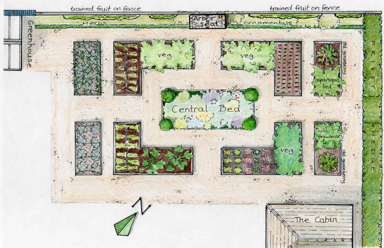 vegetable garden blueprints photo - 1