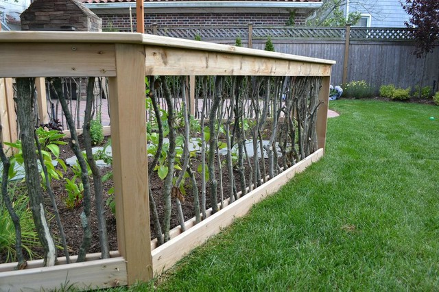 vegetable garden fence gate photo - 6