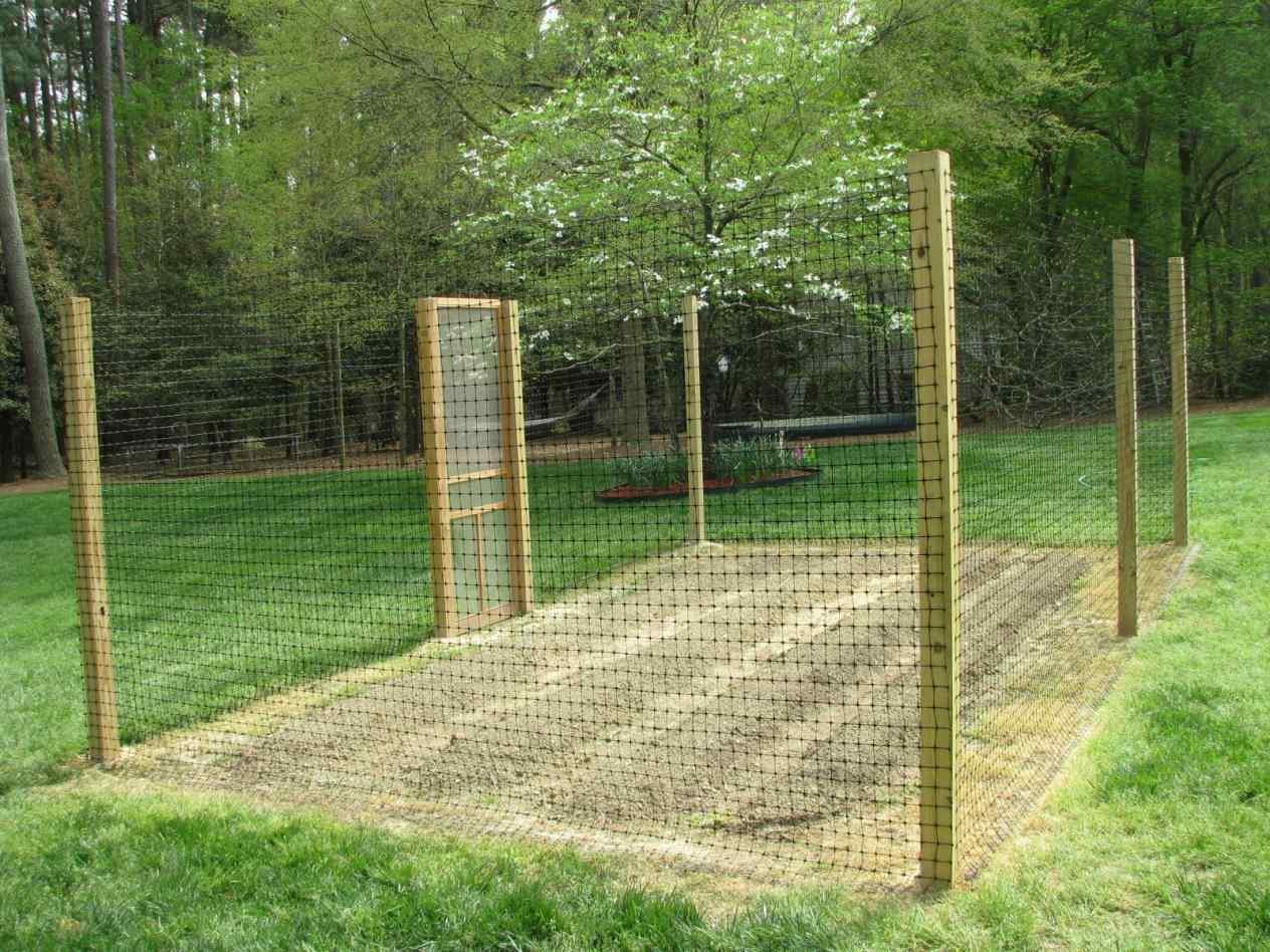 vegetable garden fence panels photo - 7