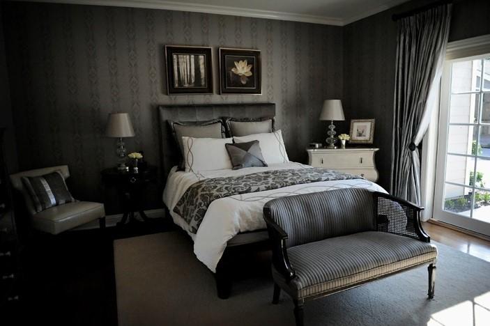 victorian gothic bedroom design photo - 10