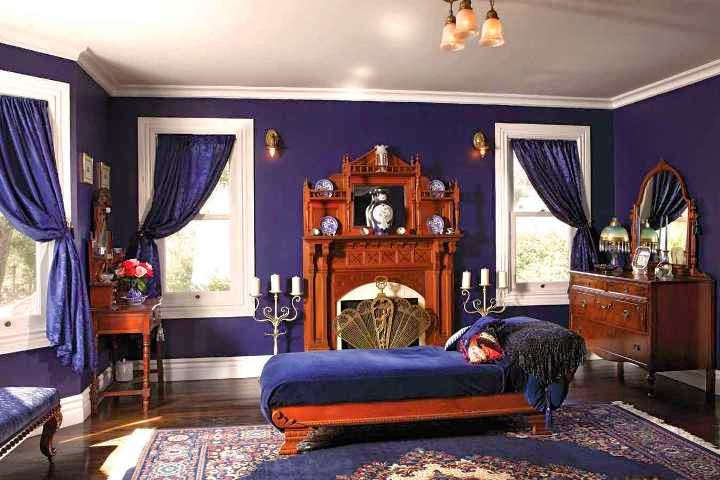 victorian wall paint colors photo - 9