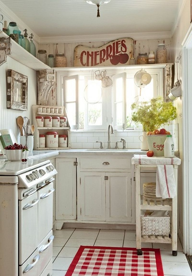 Ordinaire Vintage Country Kitchen Design Photo   1