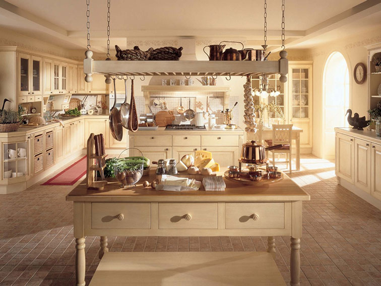 vintage country kitchen design photo - 10
