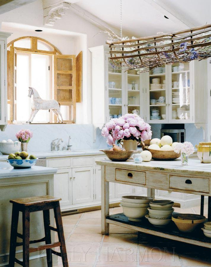 vintage country kitchen design photo - 2
