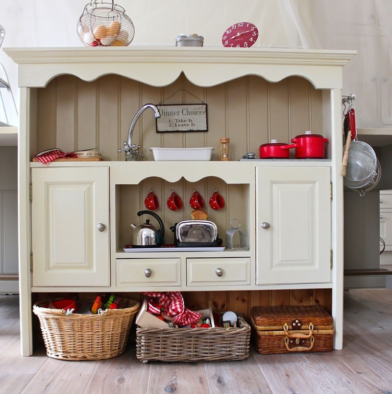 vintage country kitchen design photo - 6