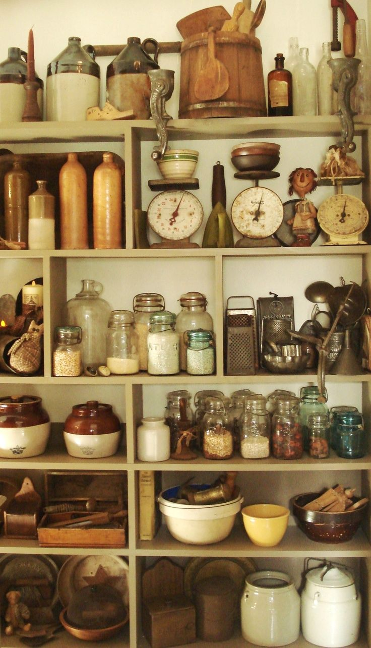 vintage country kitchen design photo - 7