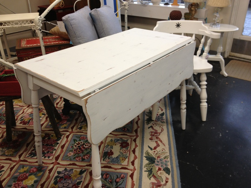 Vintage drop leaf kitchen table | Hawk Haven