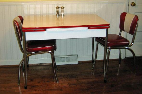 vintage kitchen table photo - 7