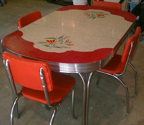 vintage kitchen table formica photo - 1