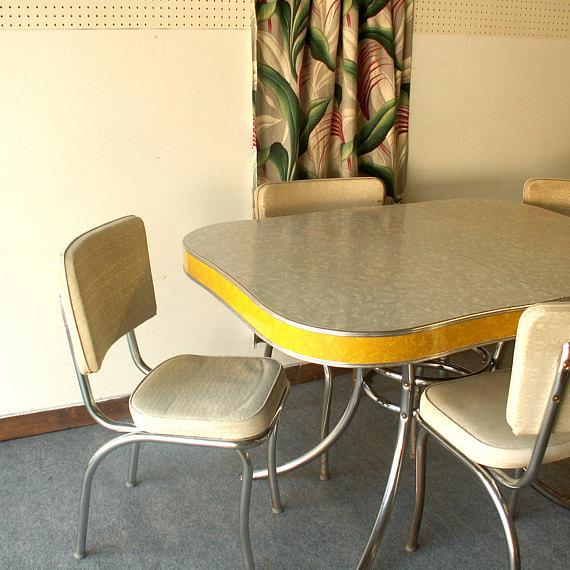vintage kitchen table formica photo - 10