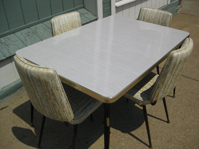 Vintage Kitchen Table Formica Hawk Haven