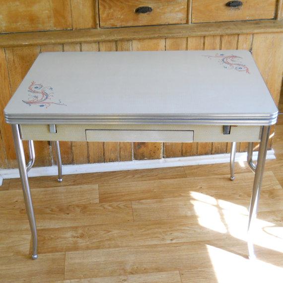 vintage kitchen table formica photo - 6