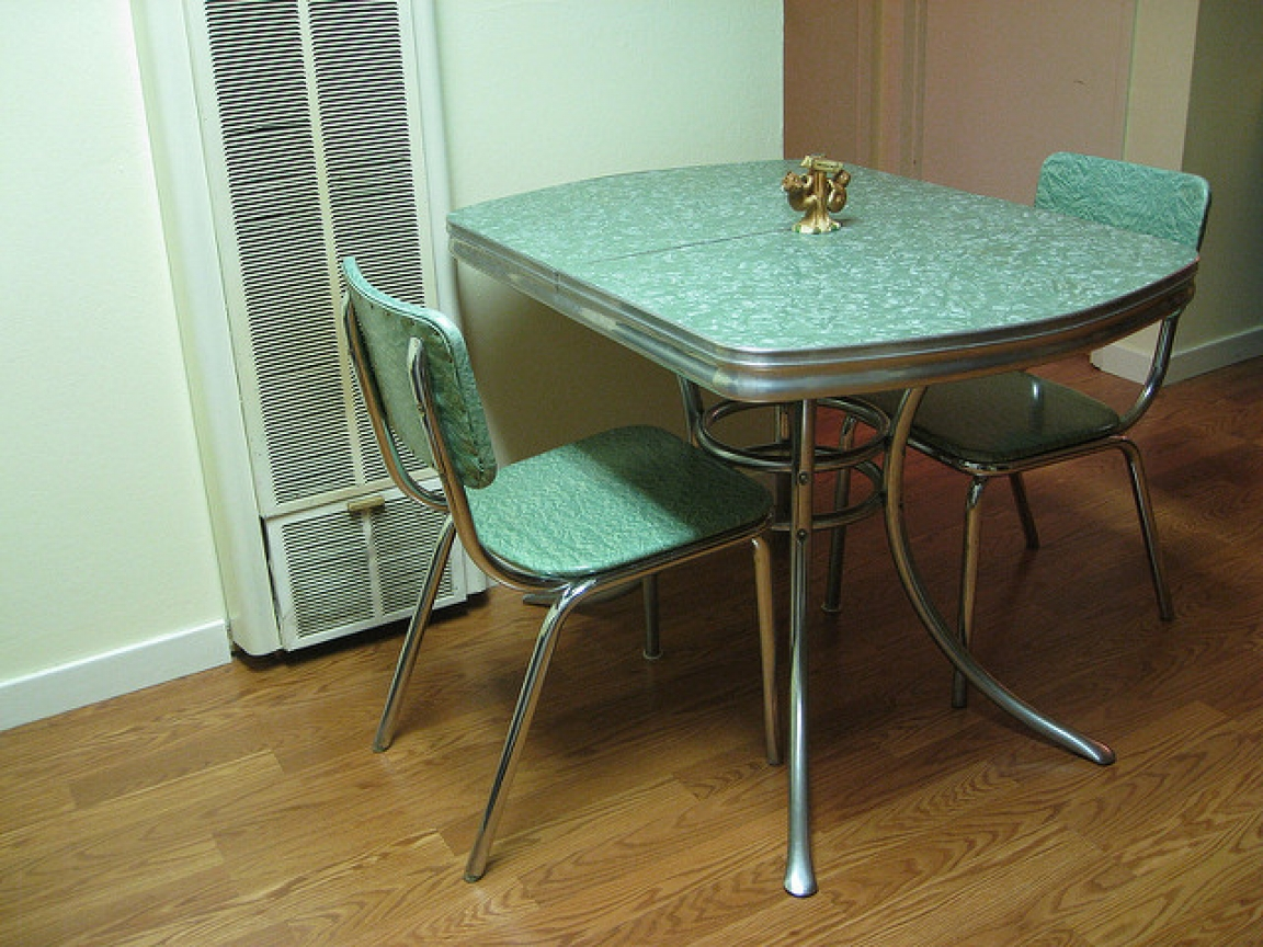 vintage kitchen tables and chairs photo - 5