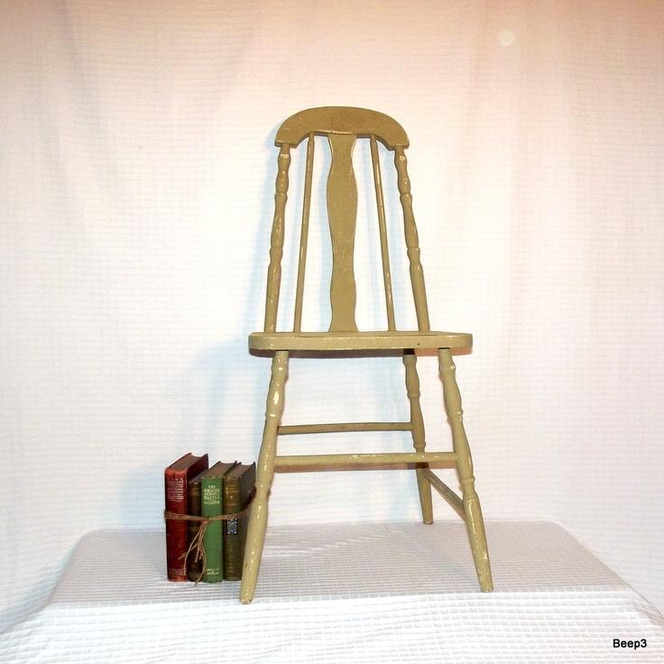 Vintage Kitchen Wood Chairs Hawk Haven