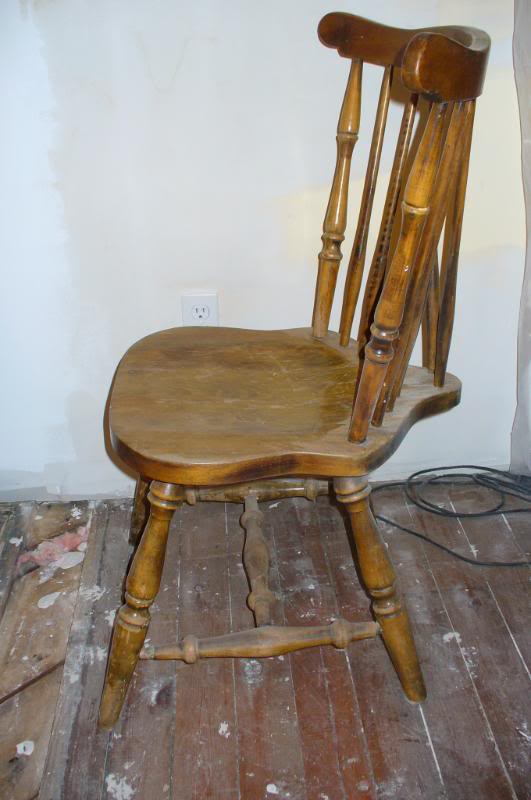 Vintage Kitchen Wood Chairs Hawk Haven