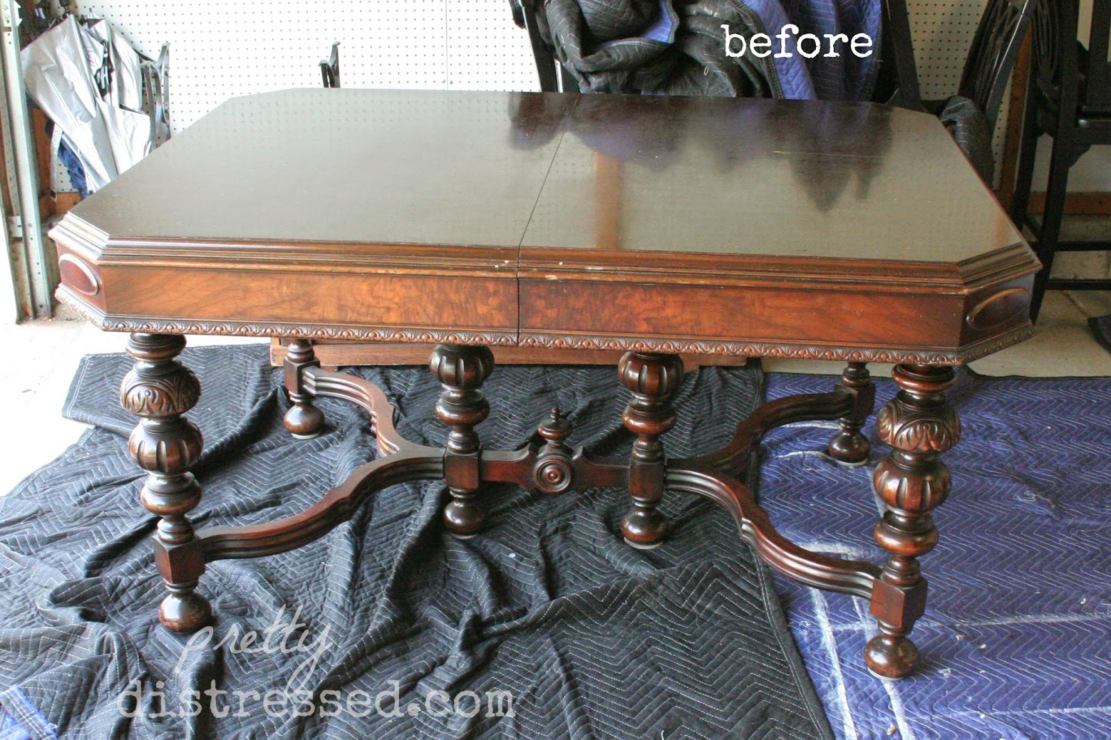 vintage painted kitchen tables photo - 1