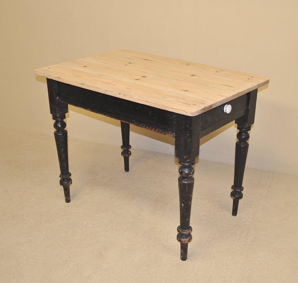 vintage pine kitchen tables photo - 1