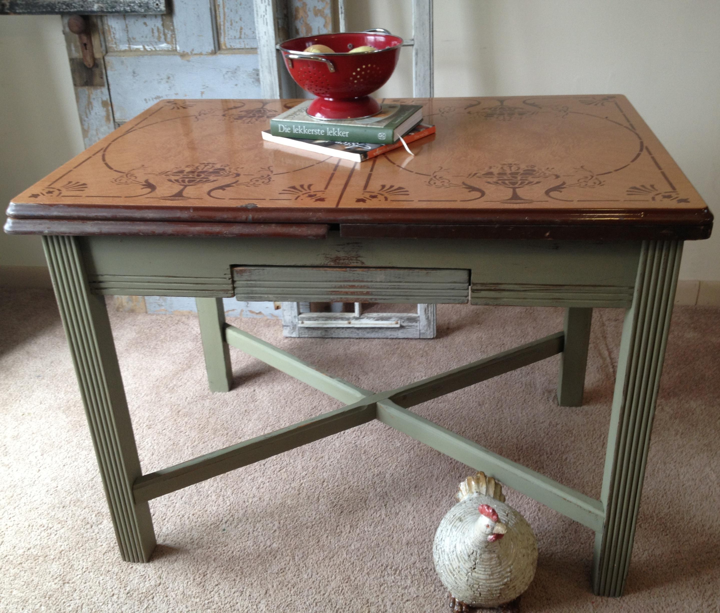 vintage porcelain kitchen tables photo - 6