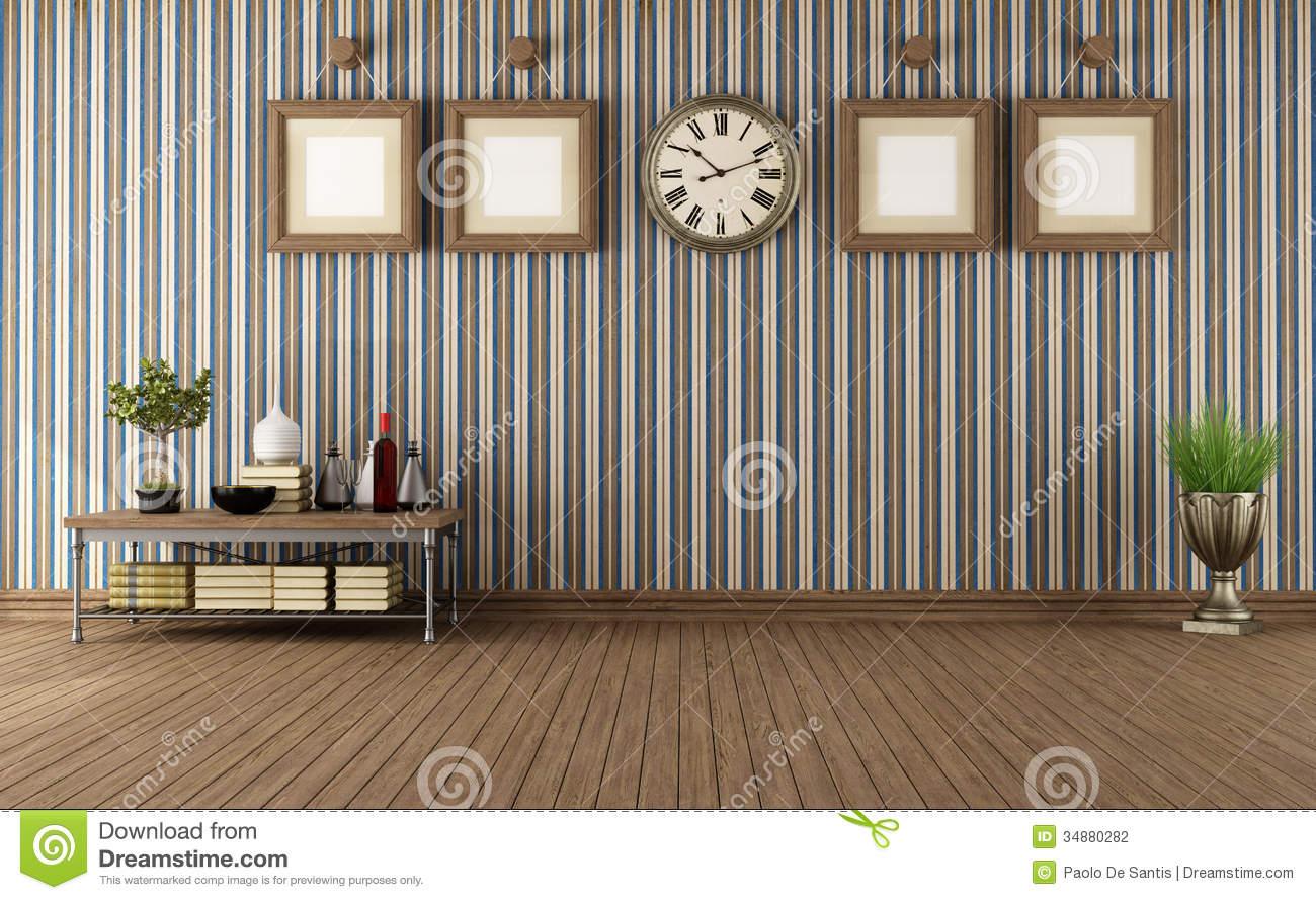 vintage room wallpaper photo - 10