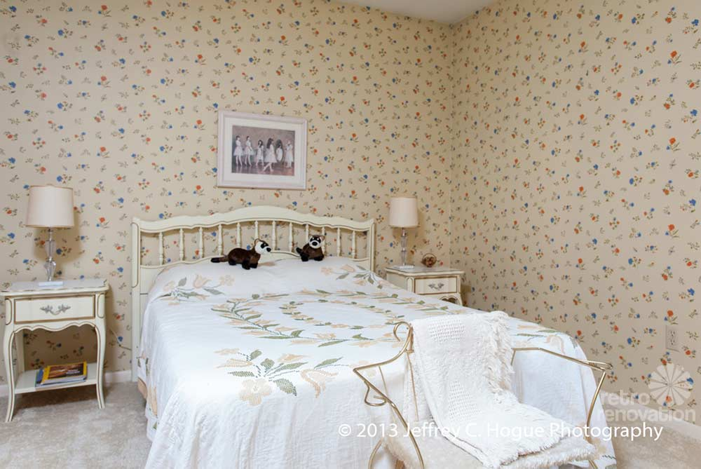 vintage room wallpaper photo - 6
