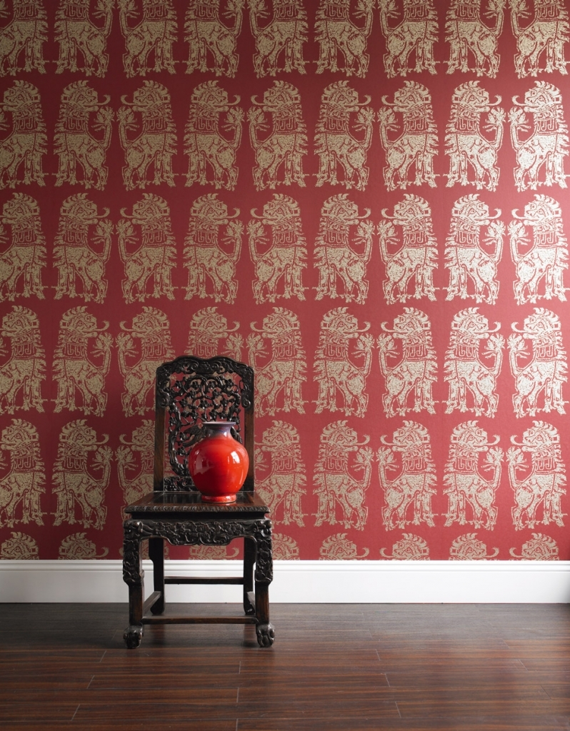 vintage room wallpaper photo - 7