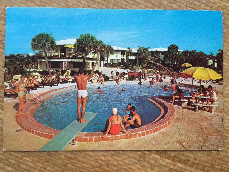 vintage swimming pool photo - 6