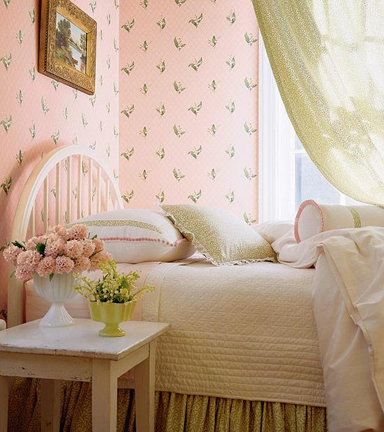 vintage wallpaper for girls room photo - 2