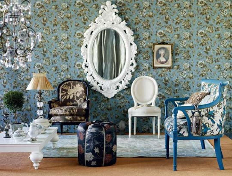 vintage wallpaper for room photo - 8