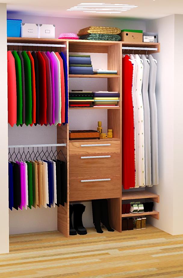 walk in closet building plans photo - 10