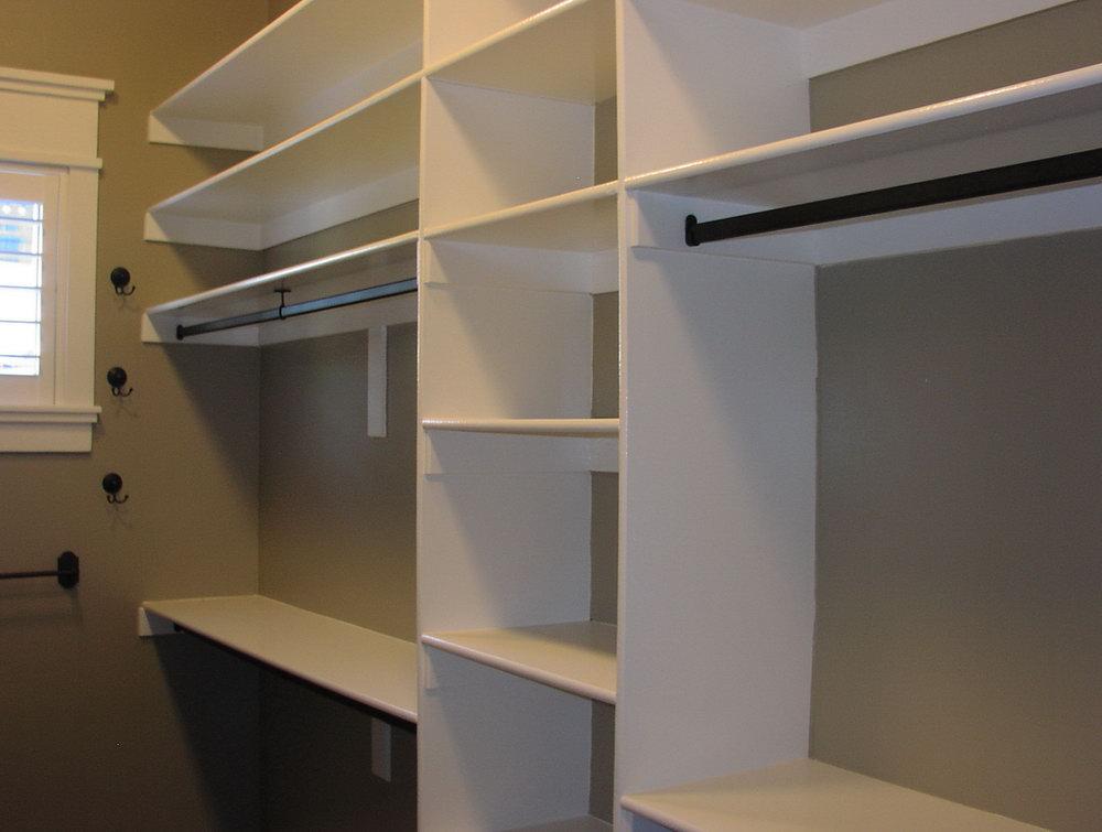 walk in closet building plans photo - 2