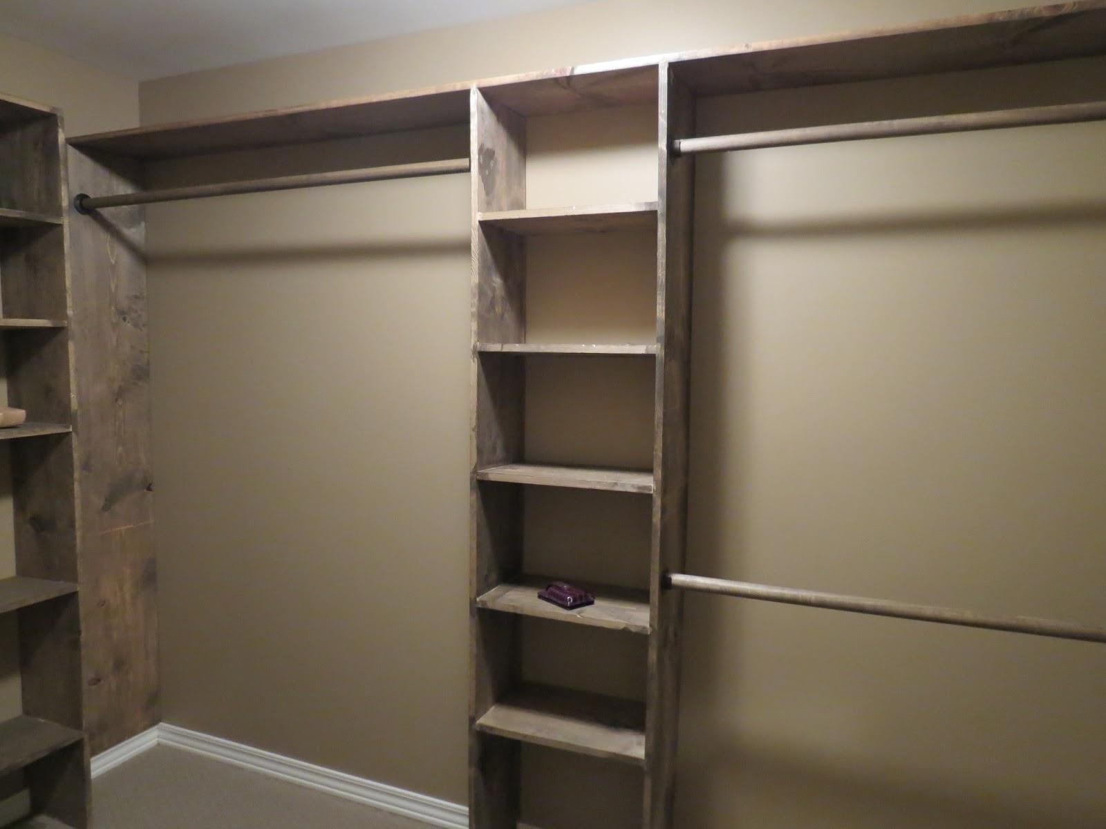 walk in closet building plans photo - 4