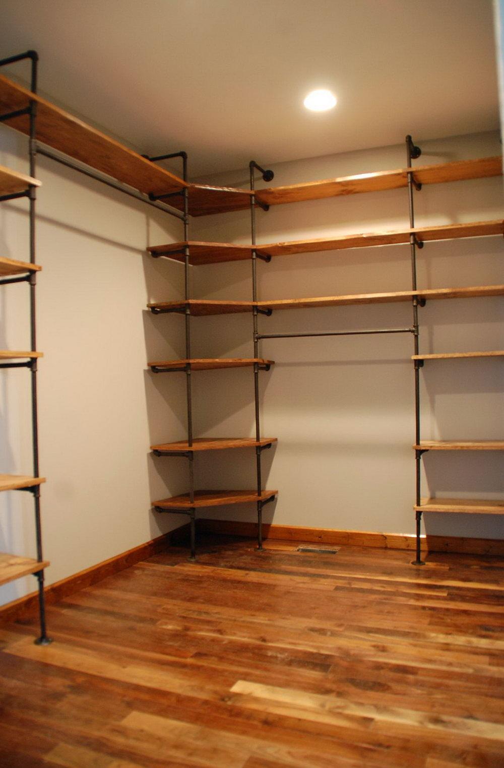 walk in closet building plans photo - 7