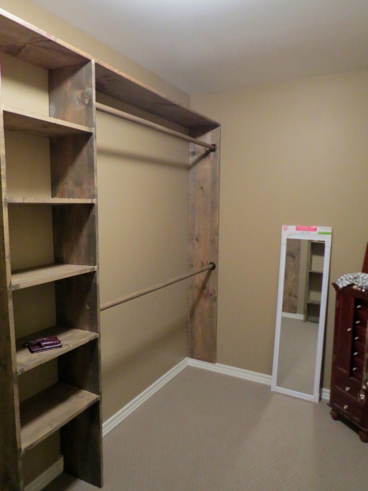 walk in closet building plans photo - 9