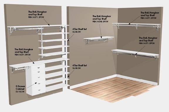 walk in closet construction plans photo - 9