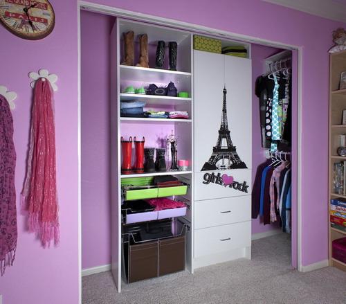 walk in closet design for girls photo - 1