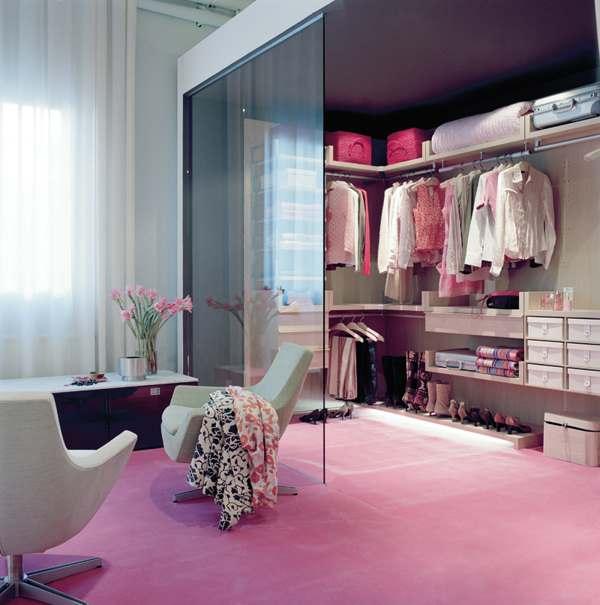 walk in closet design for girls photo - 7