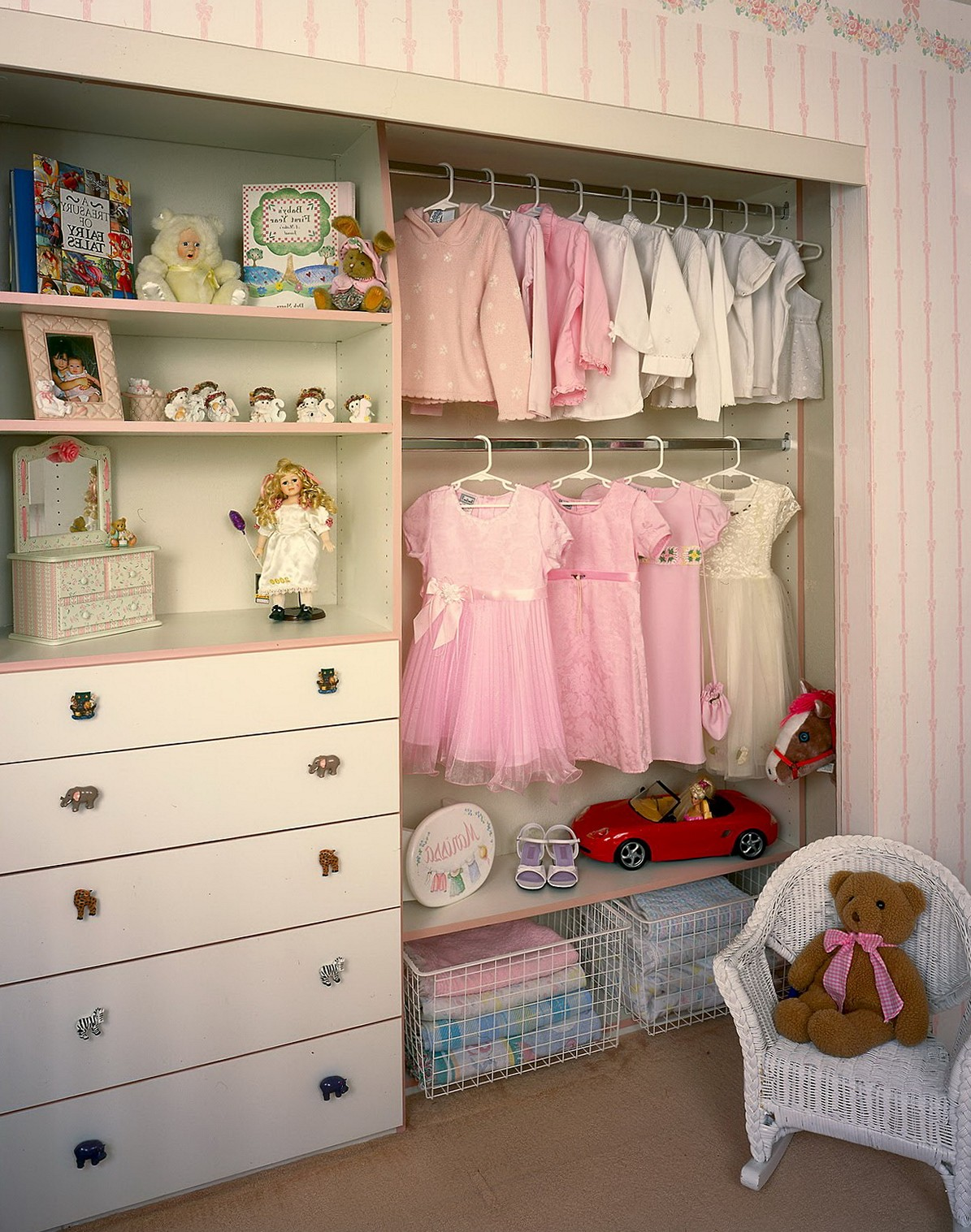 walk in closet design for girls photo - 8