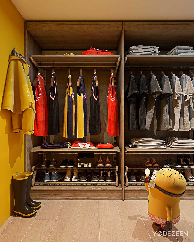 Walk In Closet Design For Kids