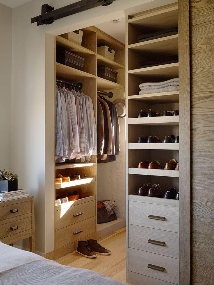walk in closet design for men photo - 10