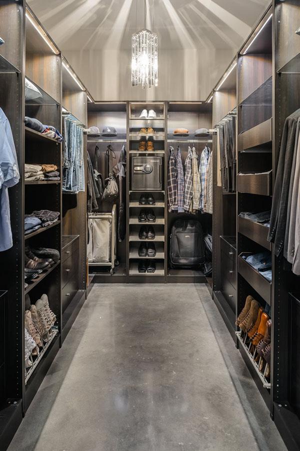 walk in closet design for men photo - 3