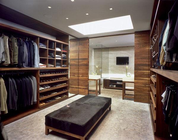 walk in closet design for men photo - 5