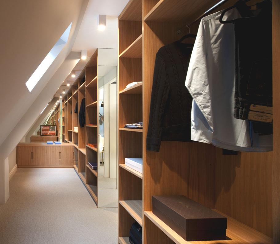 walk in closet design for men photo - 6