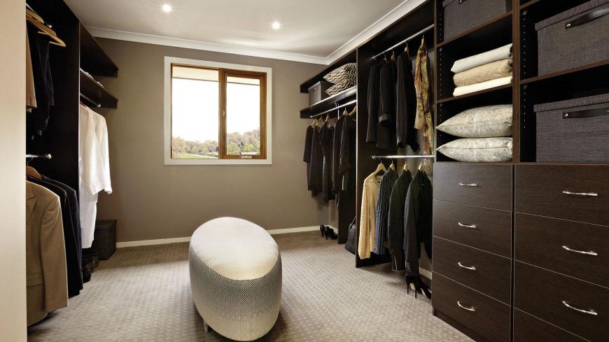 walk in closet design for men photo - 9