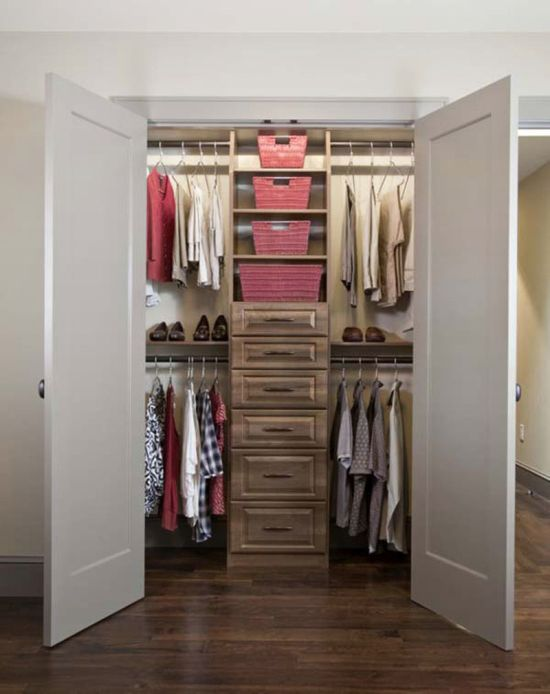 Bon Walk In Closet Design For Small Spaces Photo   1