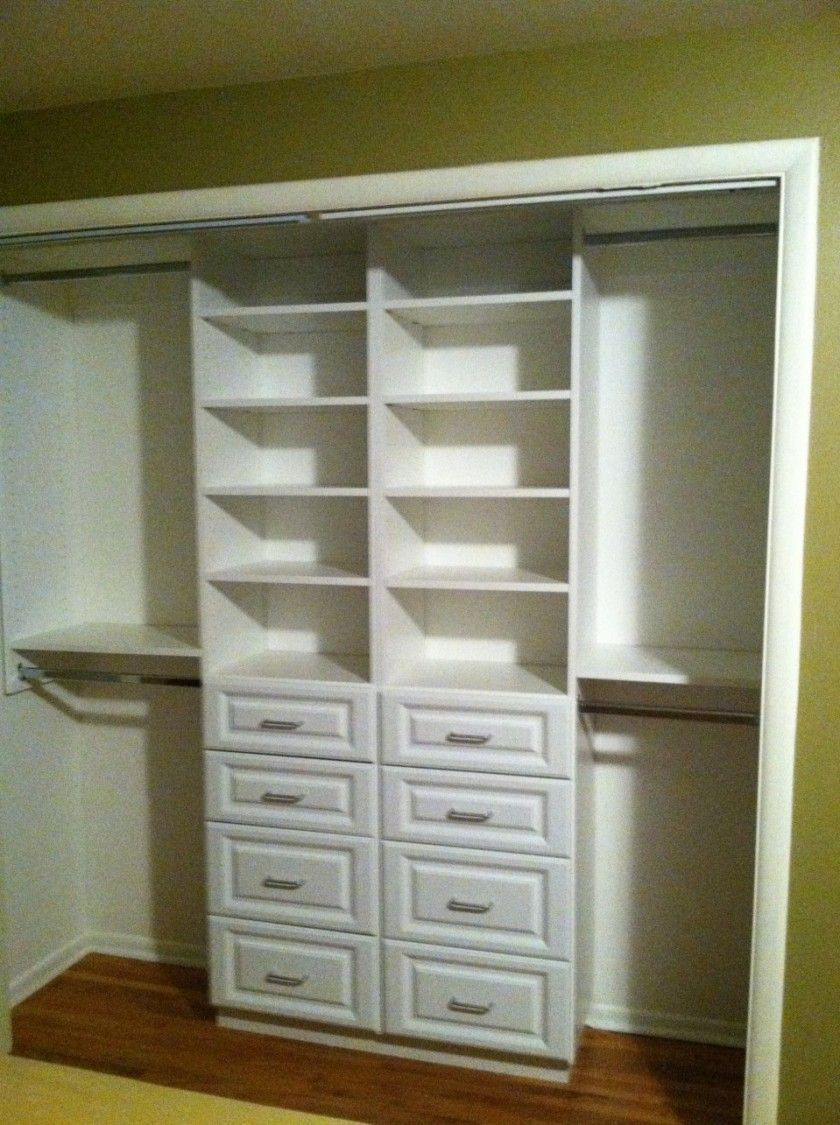 walk in closet design for small spaces photo - 9